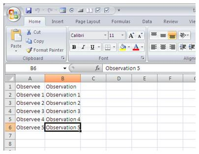 generating randomized schedules for direct observations in microsoft